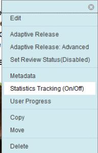 Statistics report tool